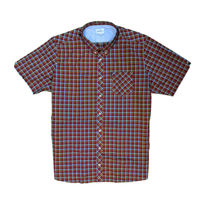 Ben Sherman S/S Shirt - 0059086IL - Red 2