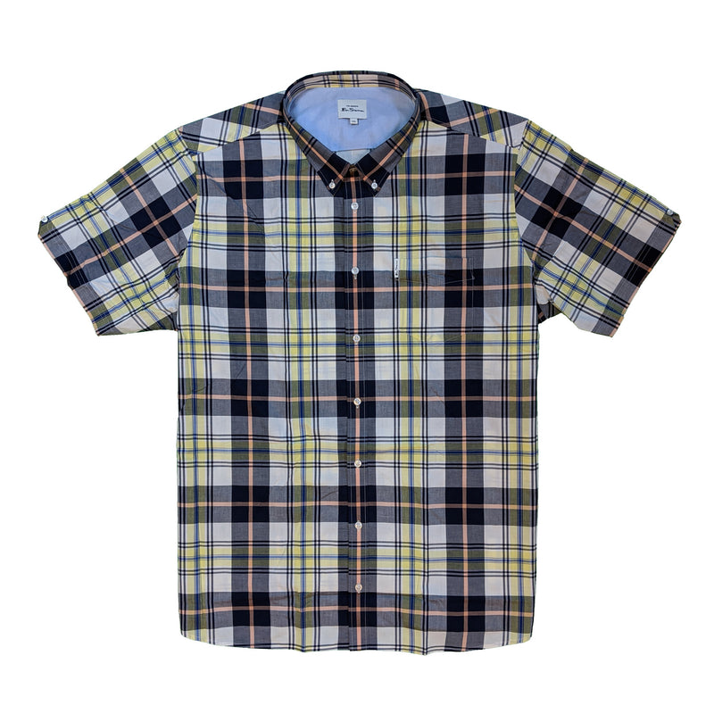 Ben Sherman S/S Shirt - 0059090IL - Lemon 1