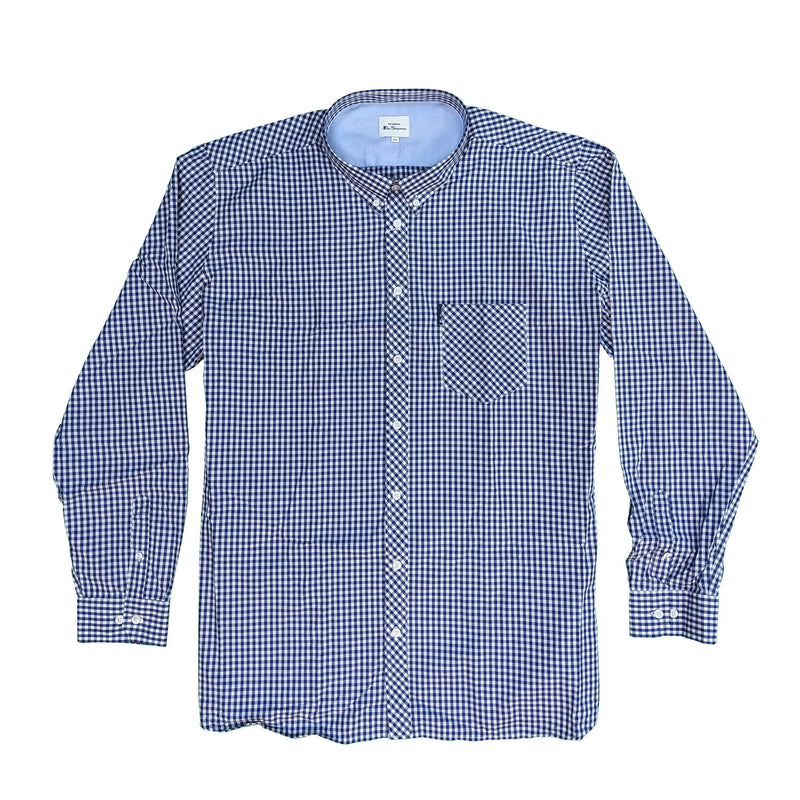 Ben Sherman L/S Shirt - 0059141IL - Dark Navy 1