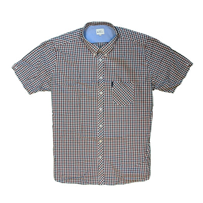 Ben Sherman S/S Shirt - 0059144IL - Red 2
