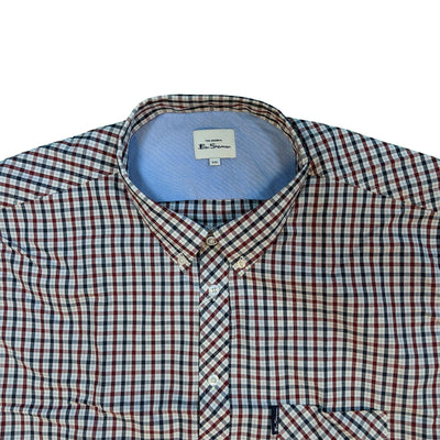 Ben Sherman S/S Shirt - 0059144IL - Red 3