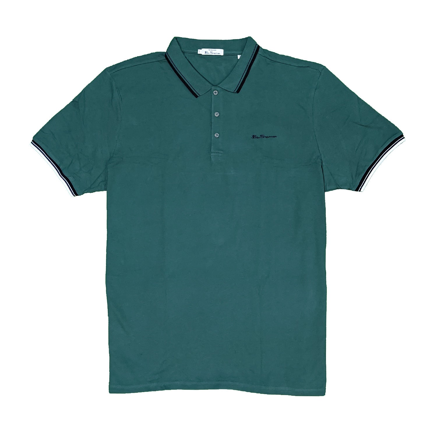 Ben Sherman Signature Polo - 0059310IL - Teal 1