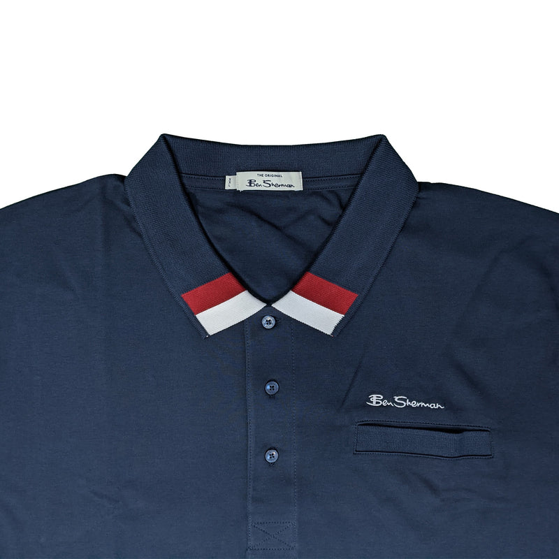 Ben Sherman Polo - 0059319IL - Dark Navy 1