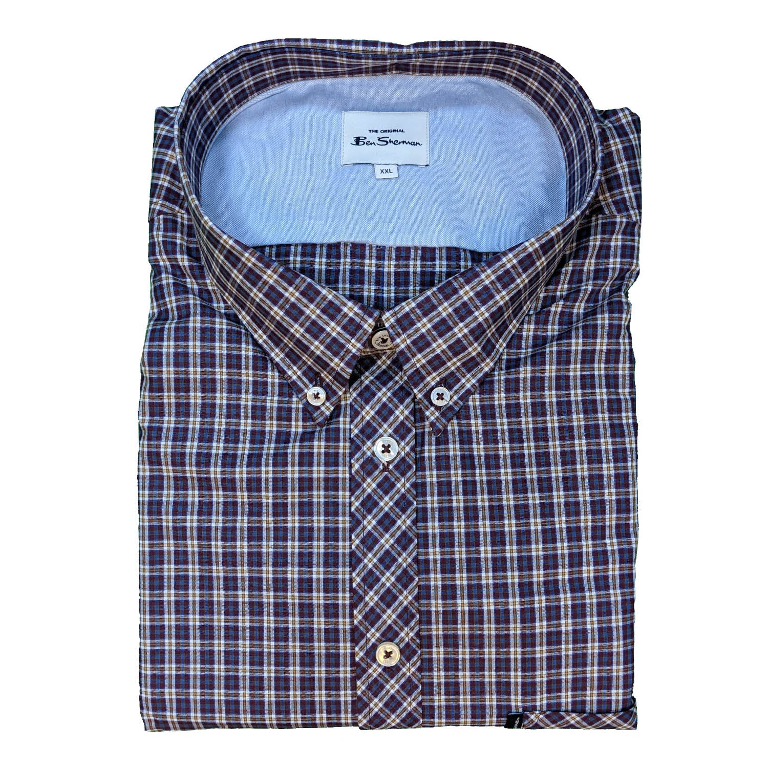 Ben Sherman L/S Shirt - 0061433IL - Port 1