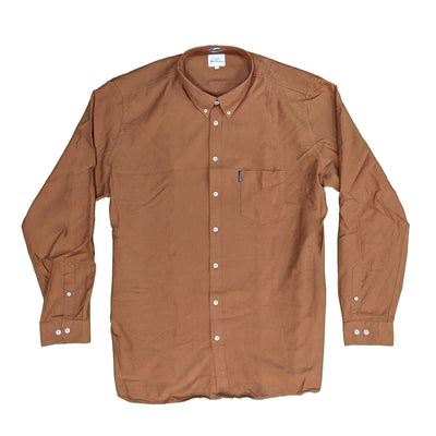 Ben Sherman L/S Oxford Shirt - 0065094IL - Gold Metal 2
