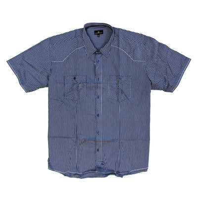 Cotton Valley S/S Shirt - 14152 - Navy 2