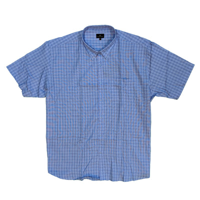 Cotton Valley S/S Shirt - 14183 - Blue 2