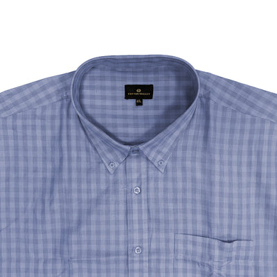 Cotton Valley S/S Shirt - 14183 - Blue 3