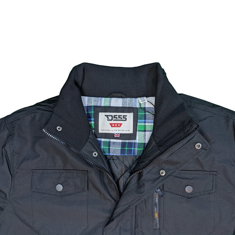 D555 Jacket - Fargo - Black 1