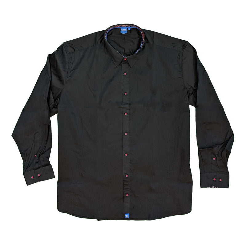 D555 L/S Shirt - KS11532 - Pascal - Black 1