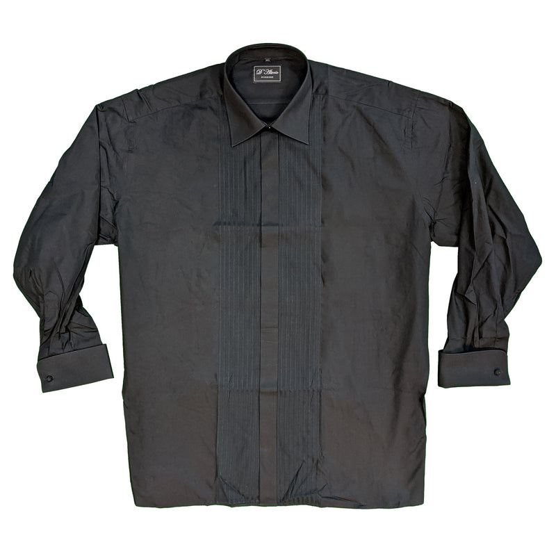 D'Alterio Dress Shirt - 21830 - Black 1