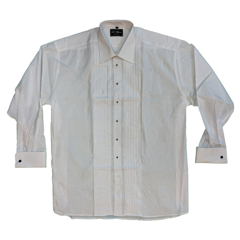 D'Alterio Dress Shirt - 21838 - White 1