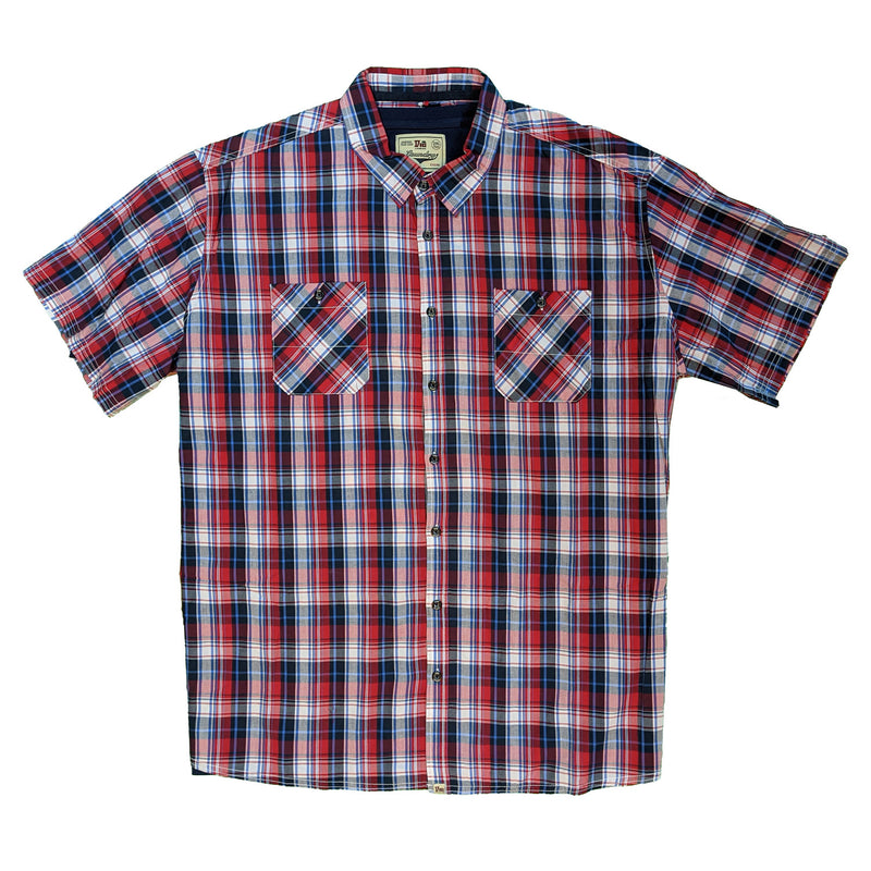 Duke S/S Shirt & T-Shirt - KS11235 - Delmar - Red / Navy 1