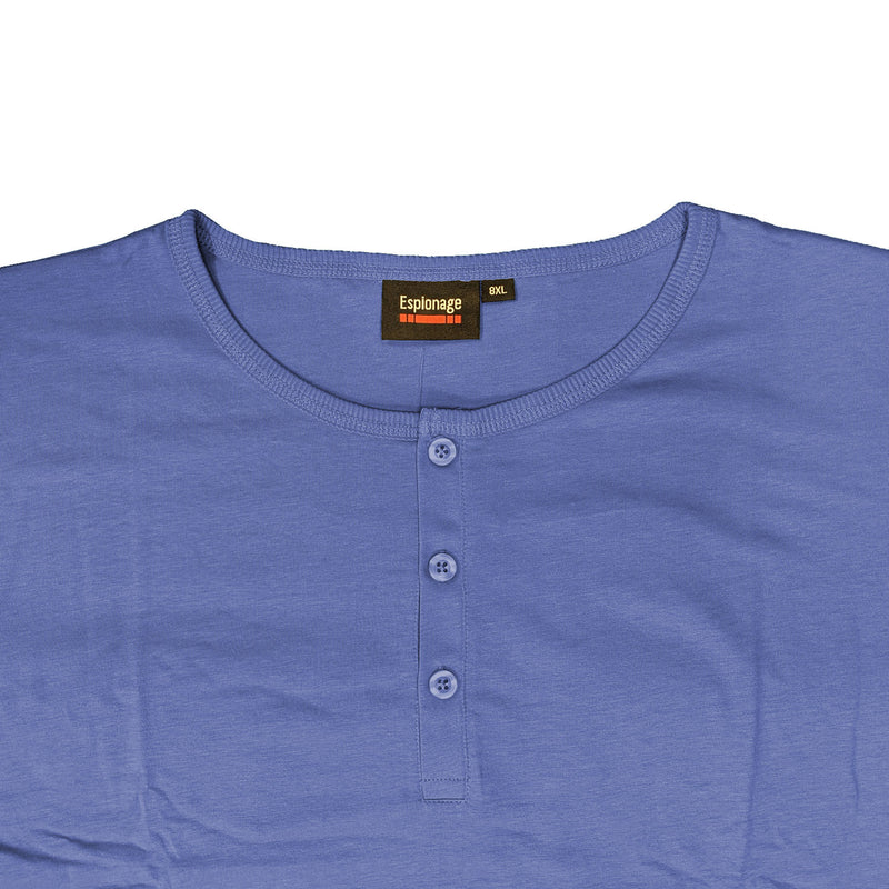Espionage Grandad Tee - T184 - Powder Blue 1