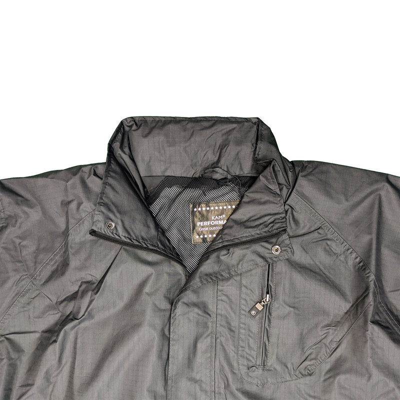 Kam Waterproof Jacket - KVS KV01 - Black