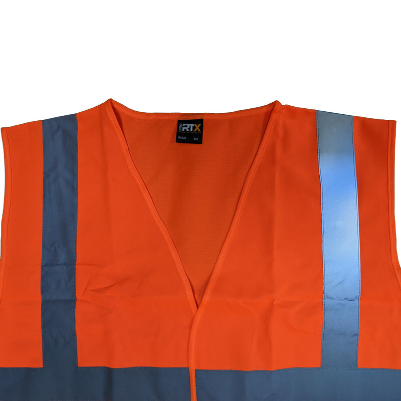 RTX Hi-Vis Vest - RX700 - Orange 1