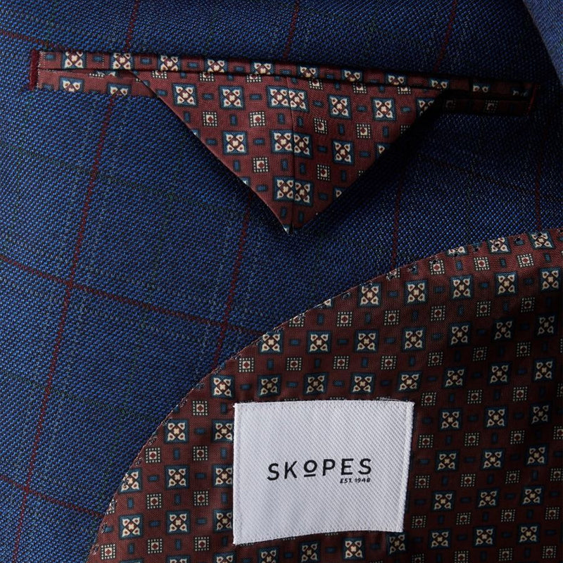 Skopes Sports Jacket - Pashley - MM4522 - Blue/Red Check 1