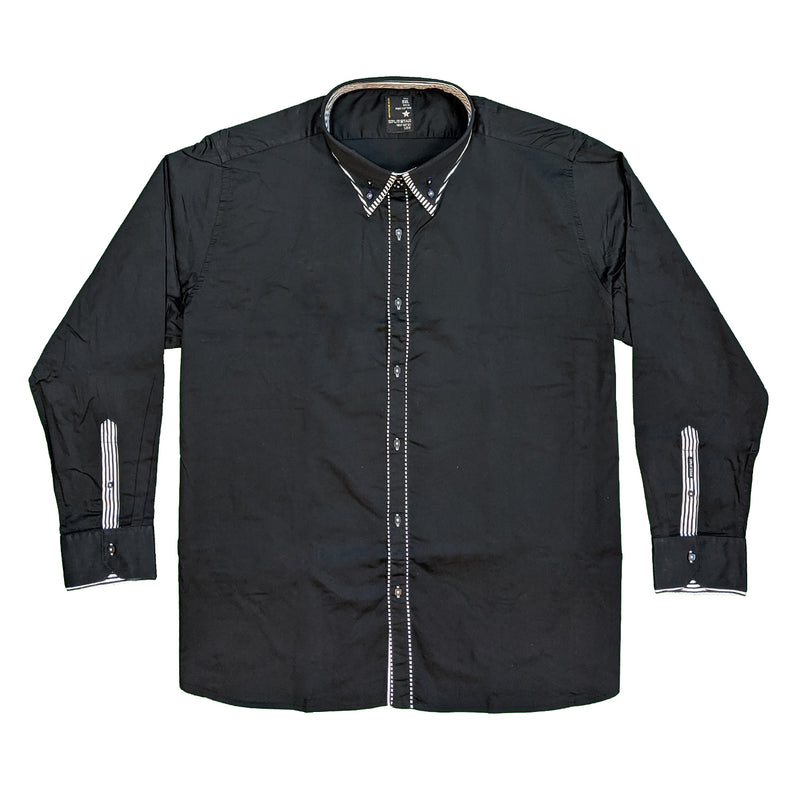 Splitstar L/S Shirt - KS11072 - Curt - Black 1