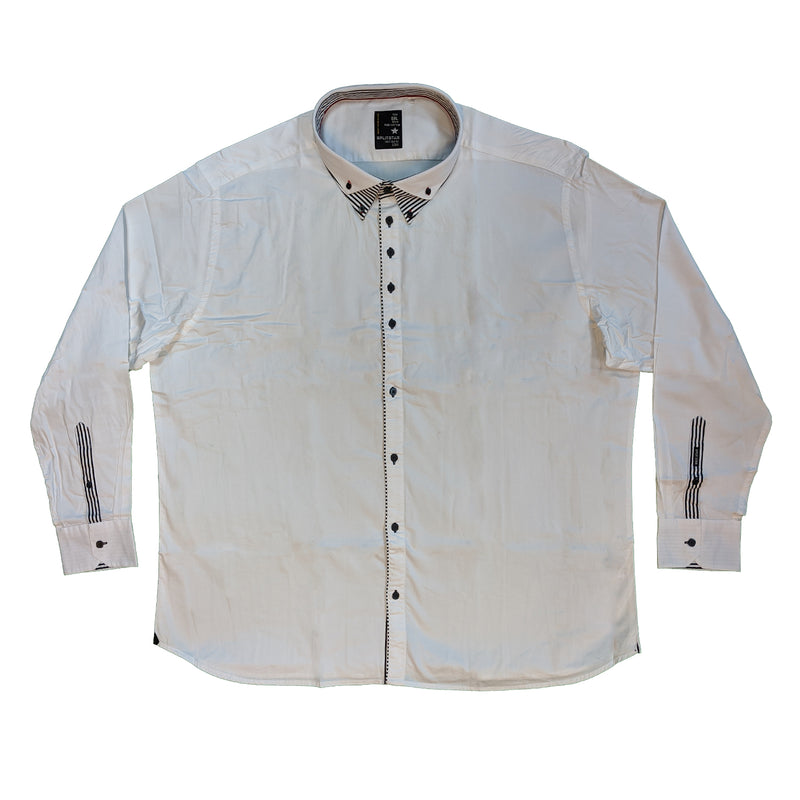 Splitstar L/S Shirt - KS11076 - D1NO - White 1