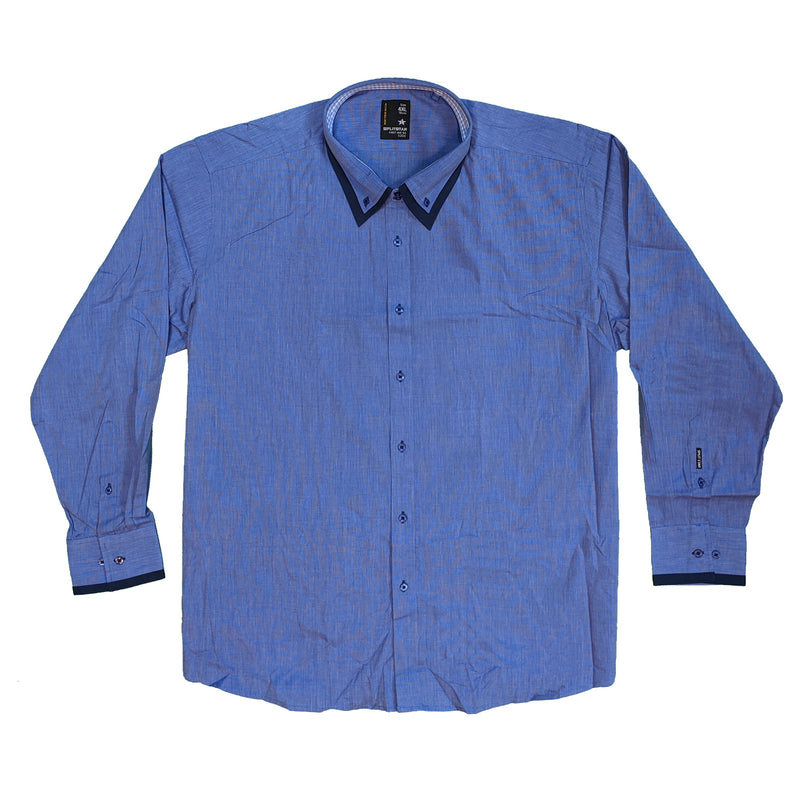 Splitstar L/S Shirt - KS11079 - Flying - Blue 1