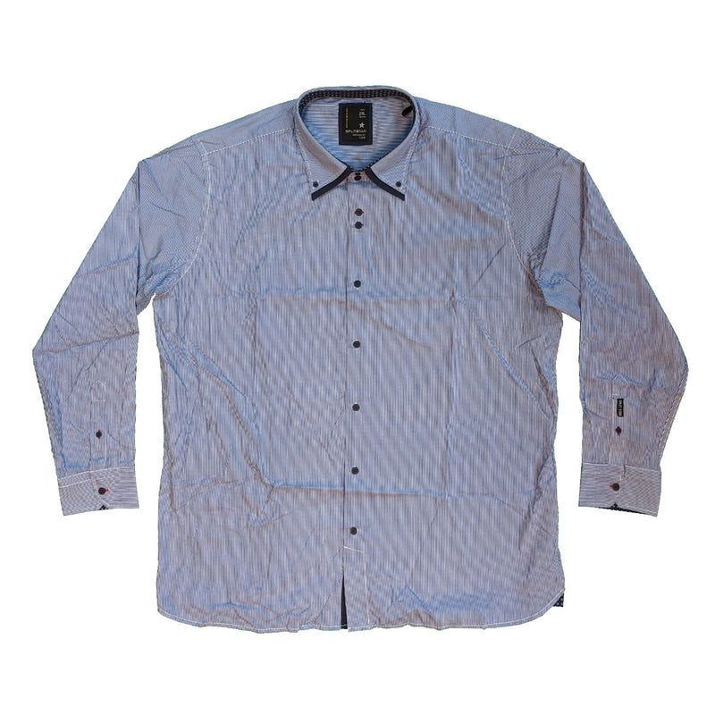Splitstar L/S Shirt - KS11226 - Republic - Blue / White 1