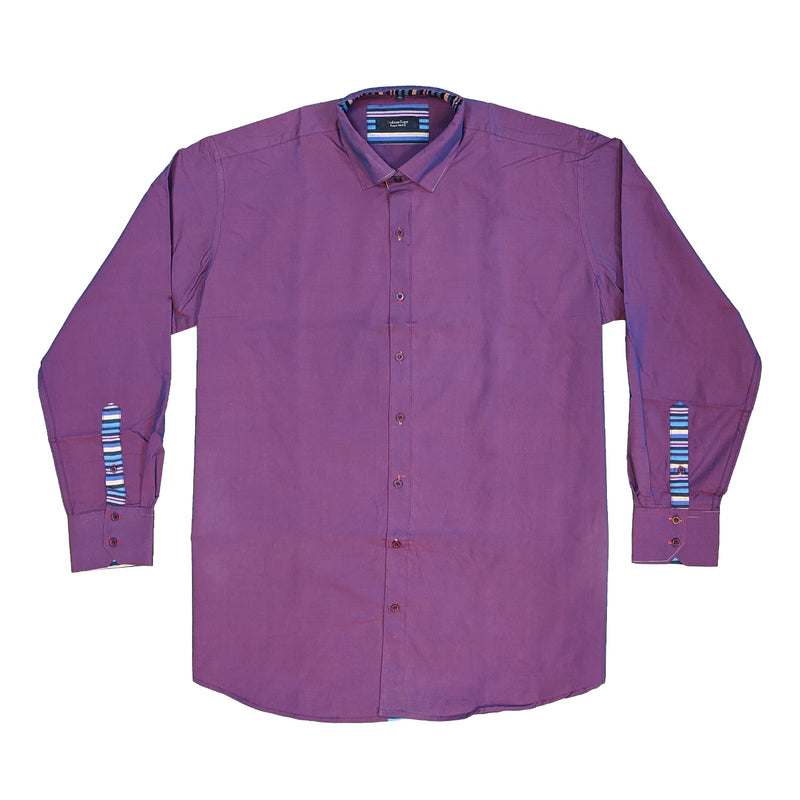 Subterfuge L/S Shirt - SH142 - Purple 1