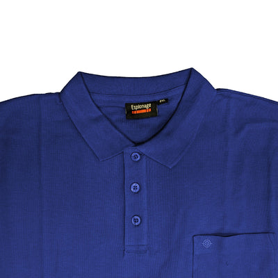 Espionage Plain Polo - P074A - Royal 2