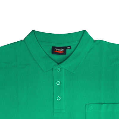 Espionage Plain Polo - P074A - Jade 2
