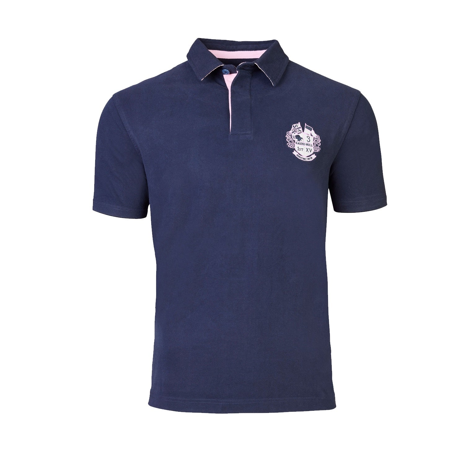 Raging Bull Signature Rugby Polo - S19RU27 - Navy 1