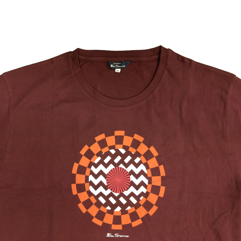 Ben Sherman T-Shirt - 0058828LI - Wine 1