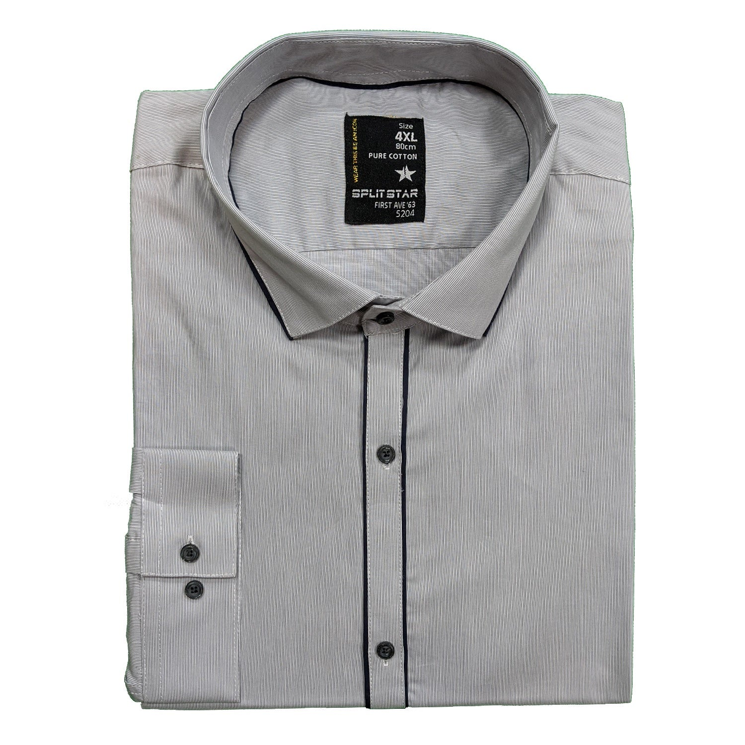 Splitstar L/S Shirt - KS11049 - Absolute - Grey 1