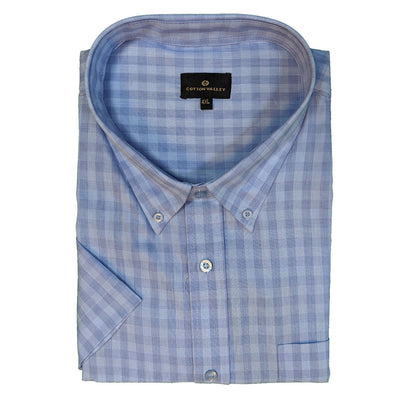 Cotton Valley S/S Shirt - 14183 - Blue 1