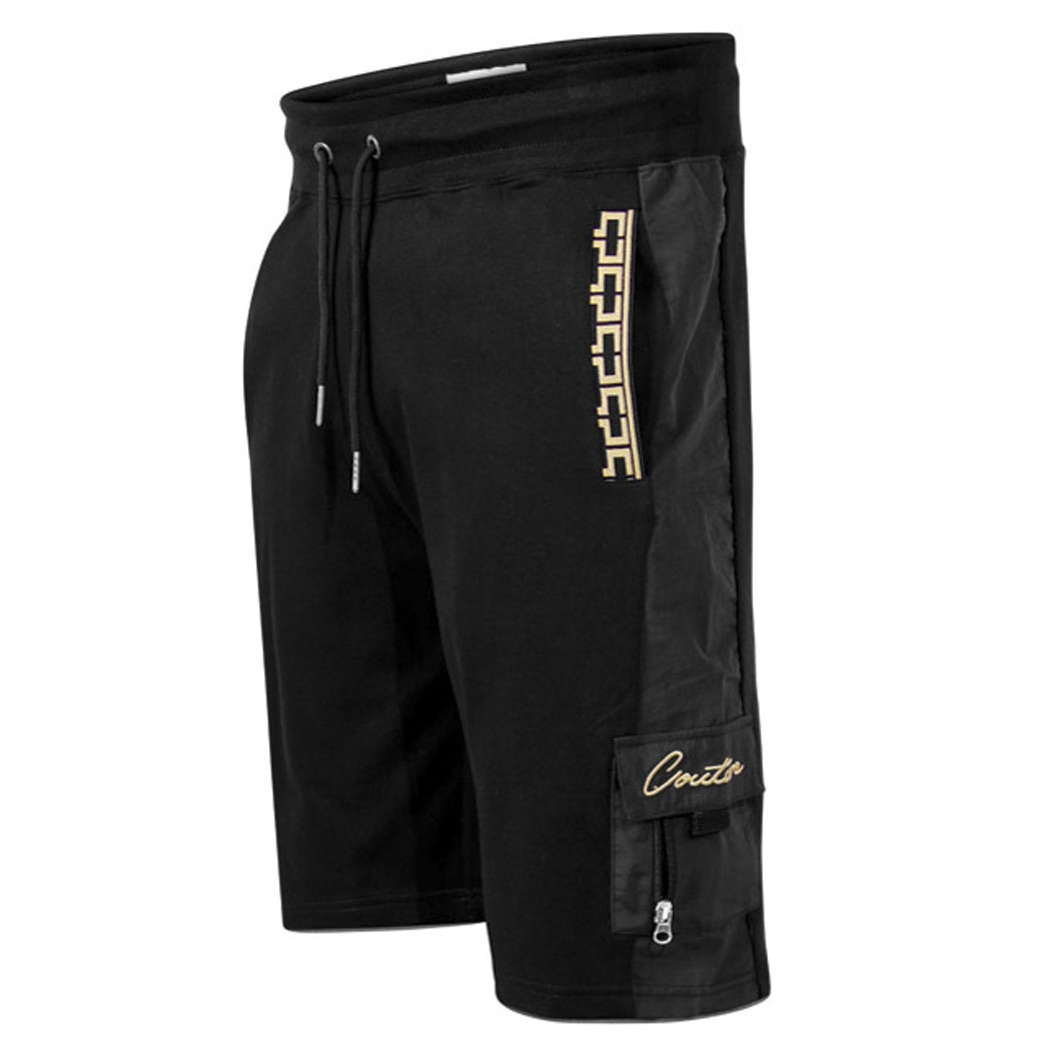 D555 Couture Cargo Shorts - 210906 - Loki - Black 1