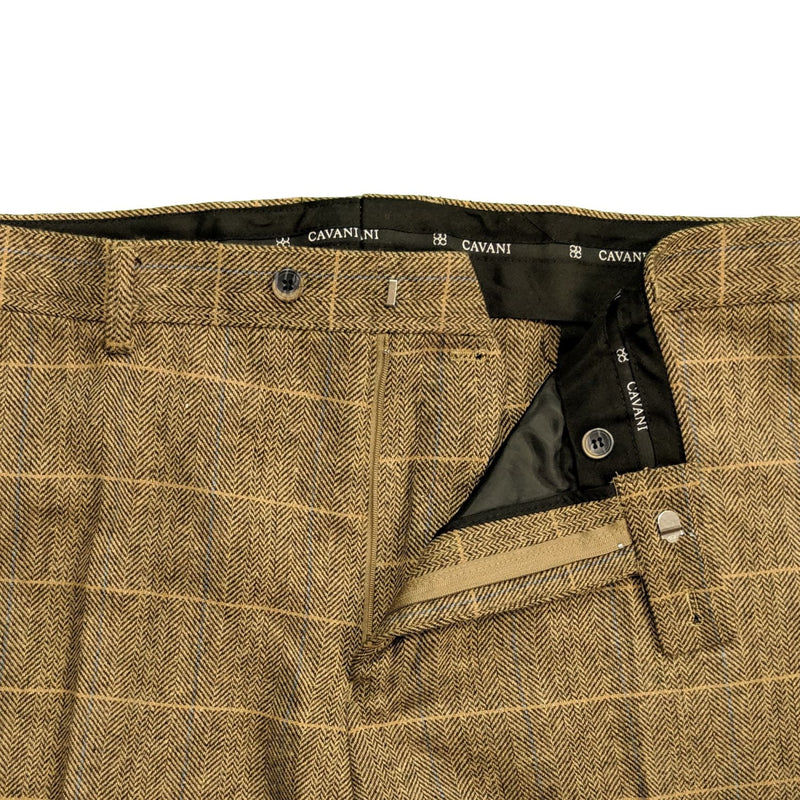 Cavani Tweed Trousers - Albert XL - Brown 1