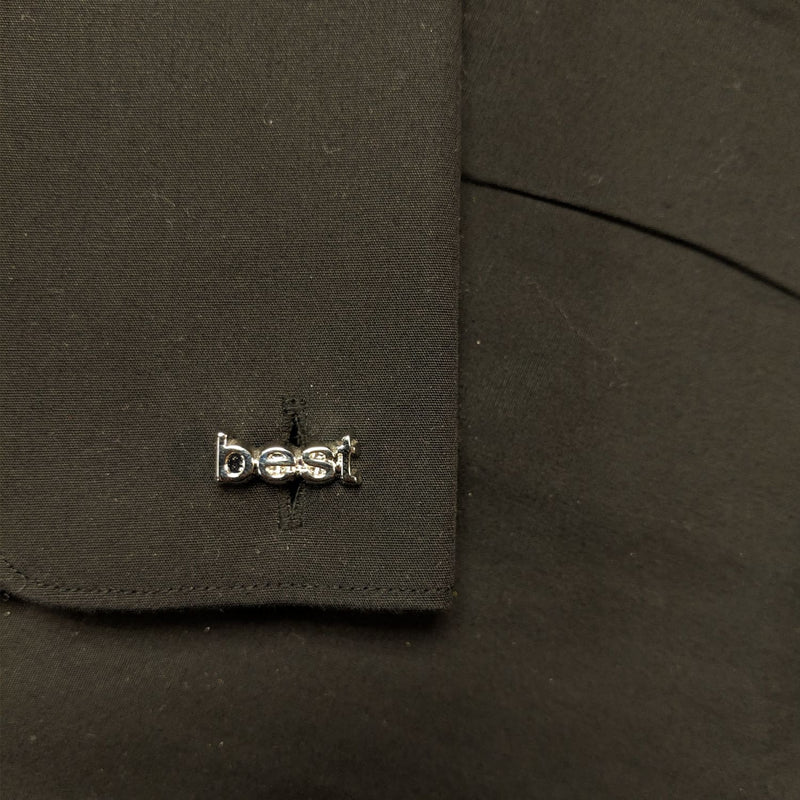 Chrome Cufflinks - Best Man 1
