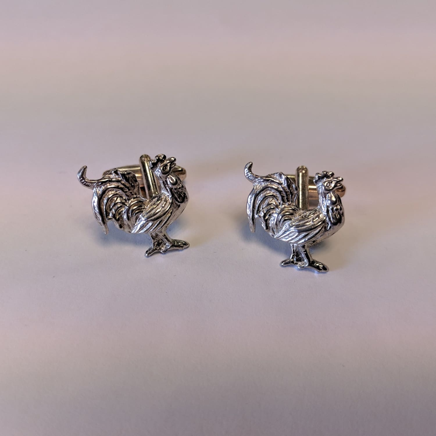 Cufflinks - Cockerel 1