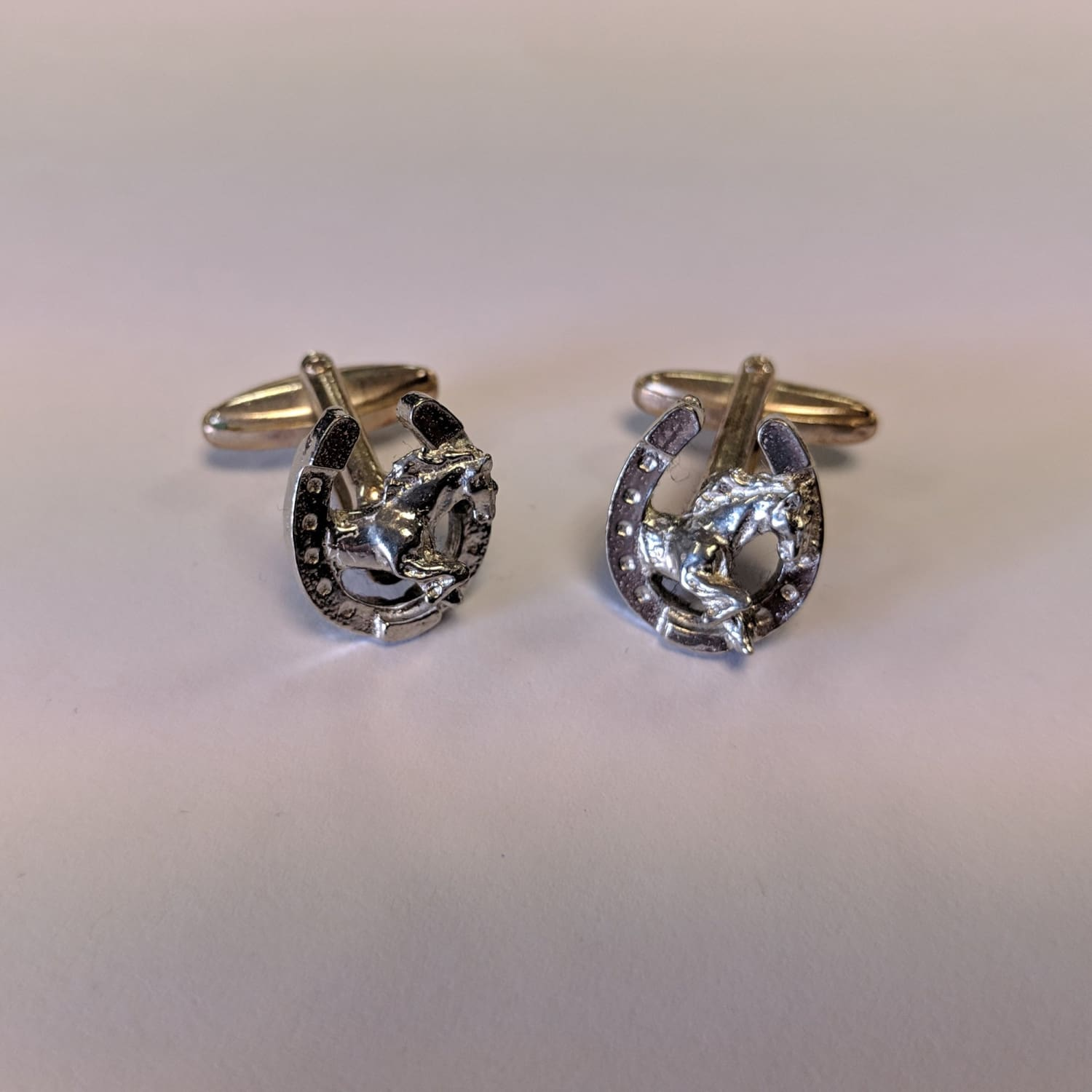 Cufflinks - Horseshoe 1