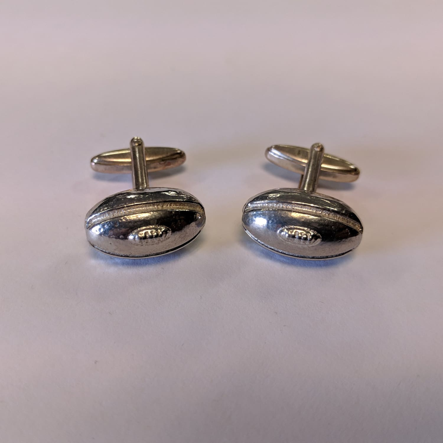 Cufflinks - Rugby Ball 1