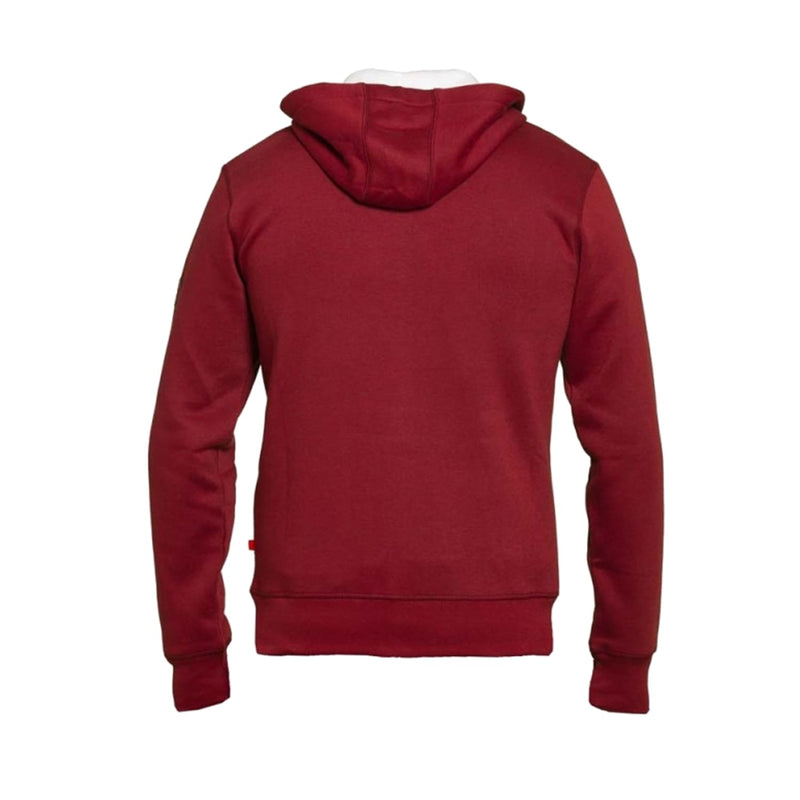 D555 Full Zip Hoody - KS60462 - Durham - Red 1