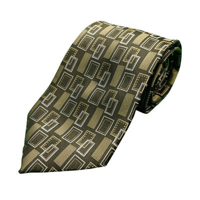 Double Two Tie - Charcoal 1
