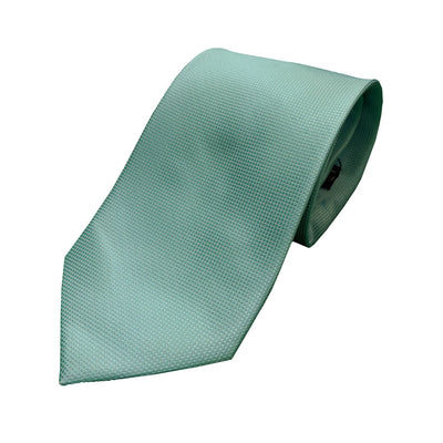 Double Two Tie - DF0528 - Aqua 1