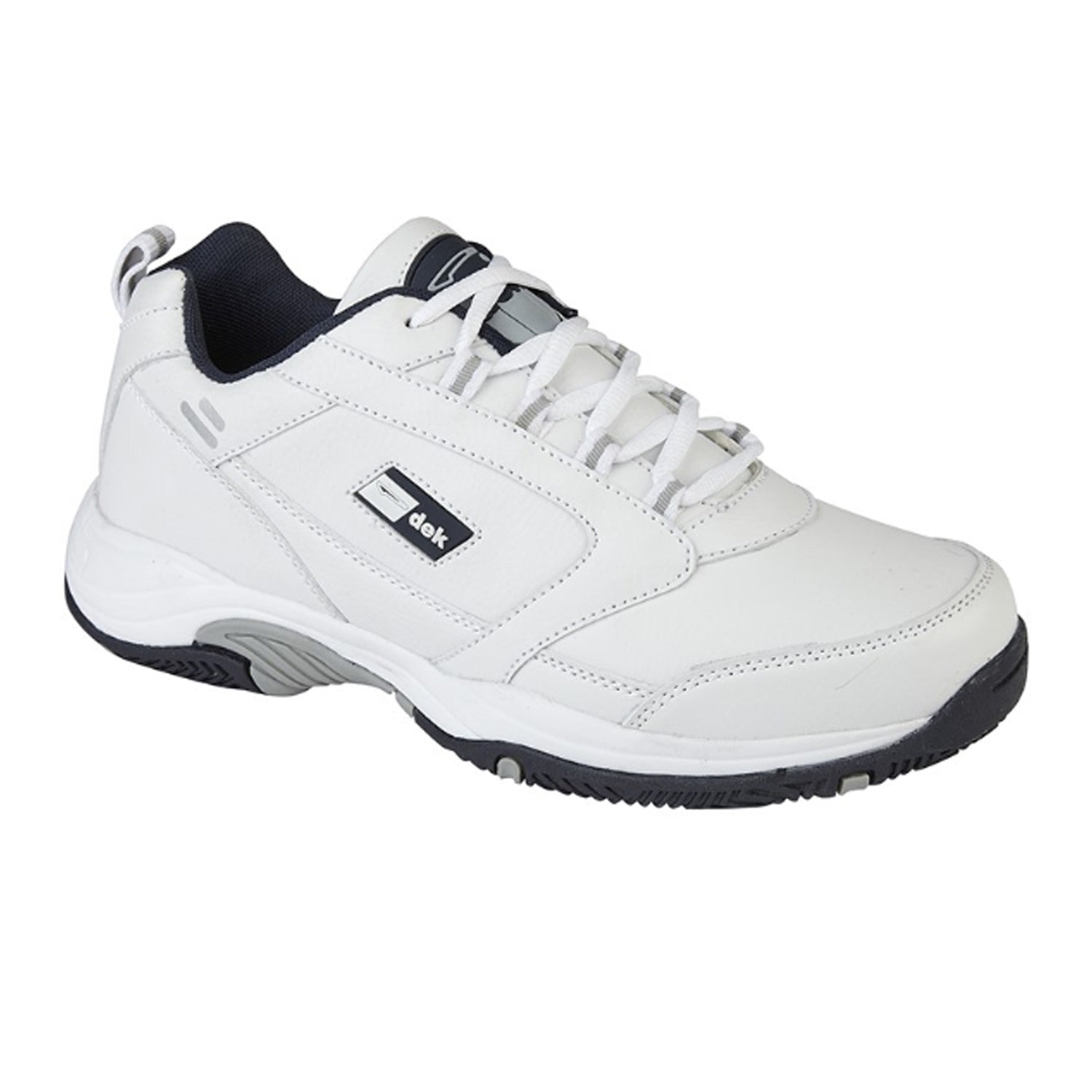 Dek Trainers - T303 - Dakota - White 1