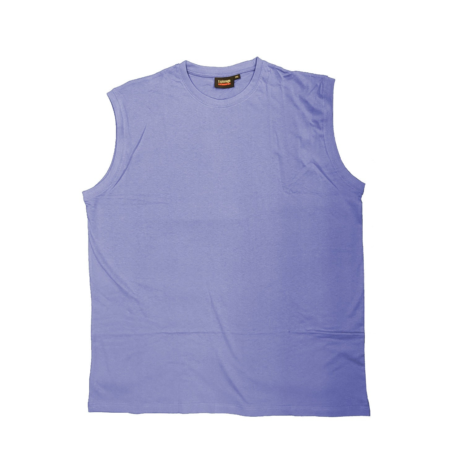 Espionage Sleeveless Tee - T113 - Powder Blue 1