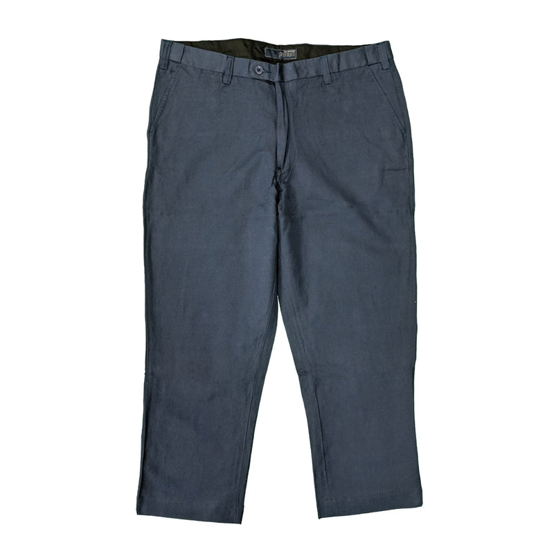Ed Baxter Linen Trousers - EB316 - Navy 1
