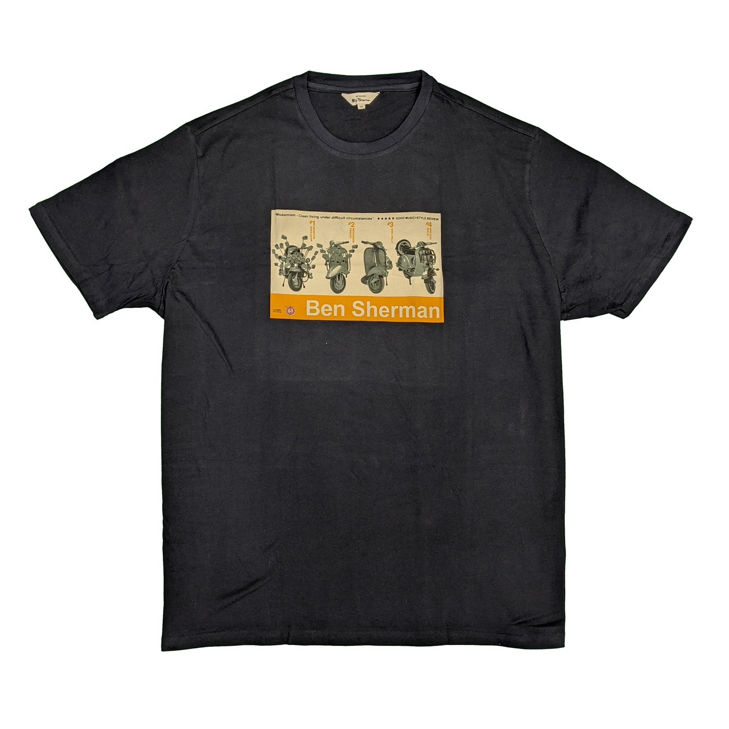 Ben Sherman T-Shirt - 0059052IL - Dark Navy 1
