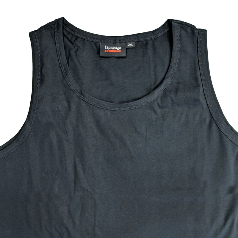 Espionage Plain Vest - T017 - Navy 1