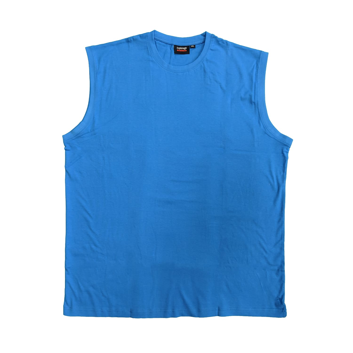 Espionage Sleeveless Tee - T113 - Atlantic Blue 1