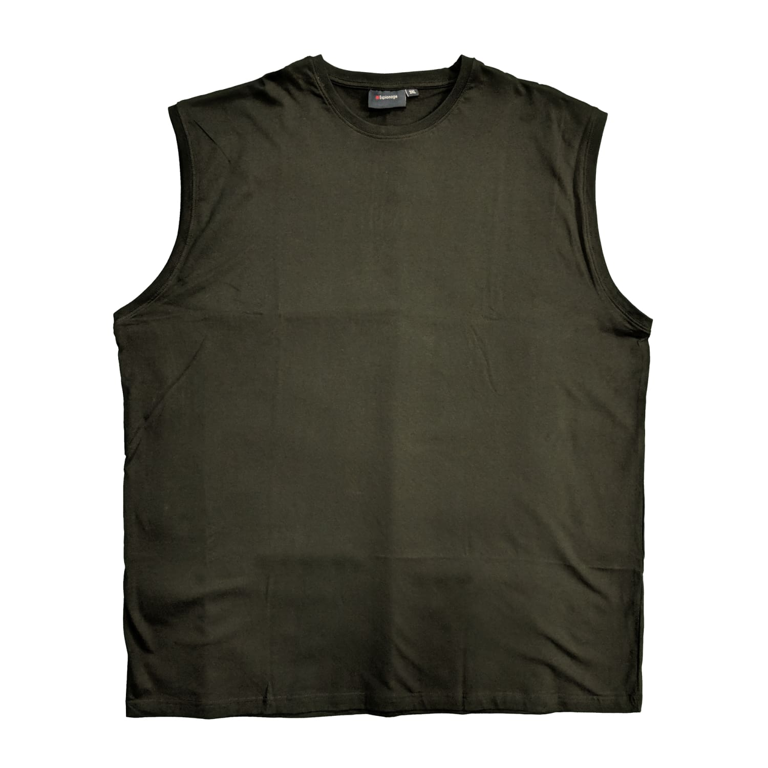 Espionage Sleeveless Tee - T113 - Black 1