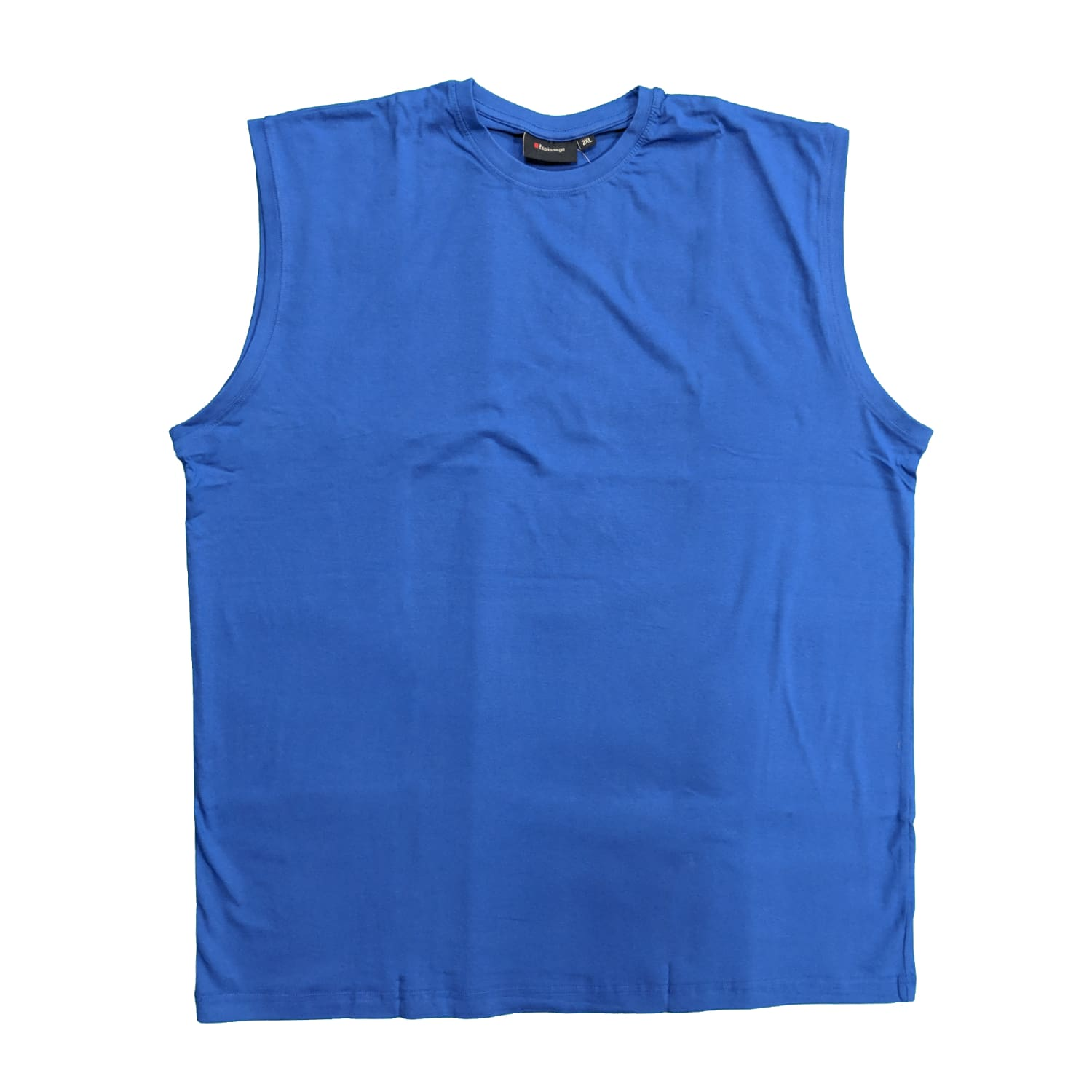 Espionage Sleeveless Tee - T113 - Royal 1