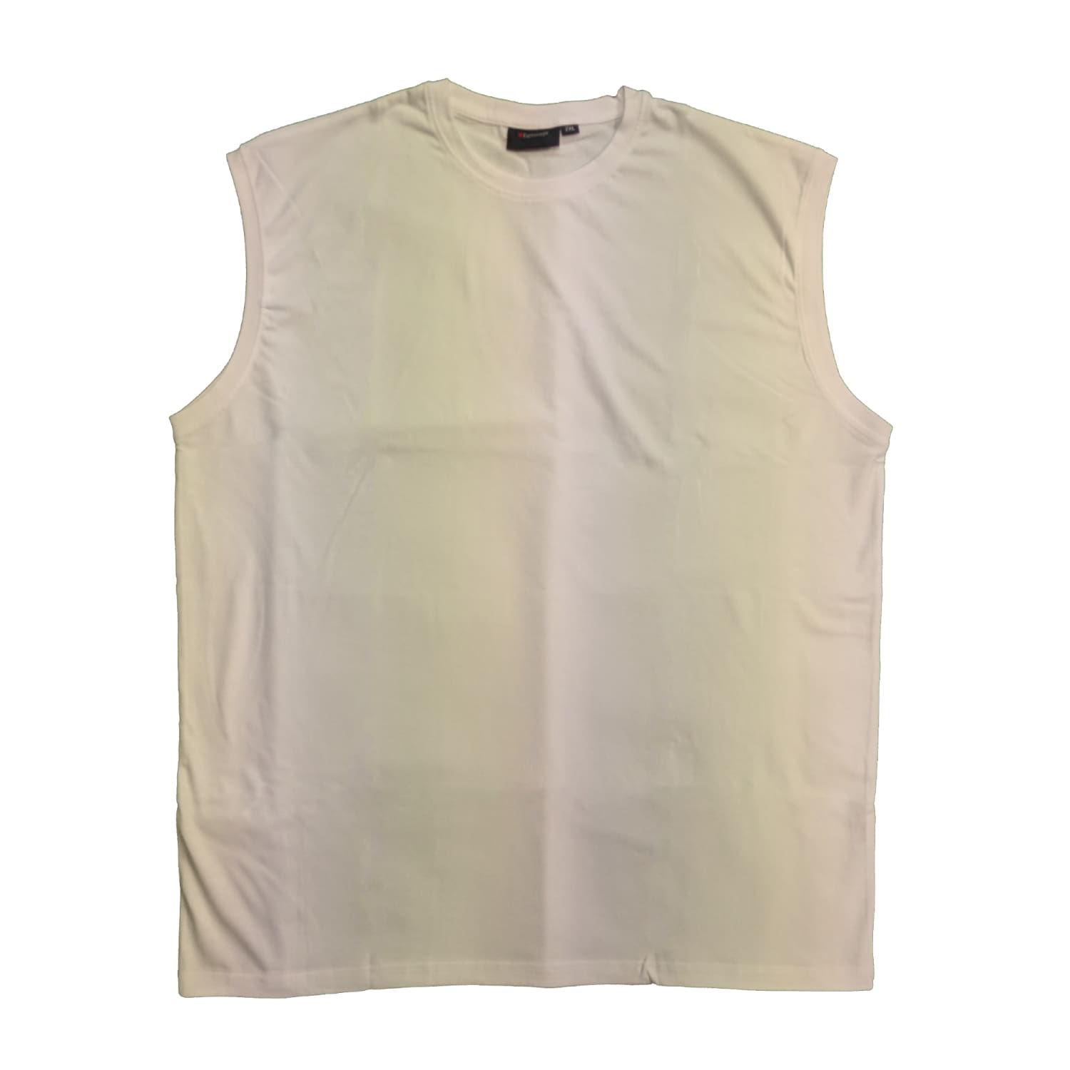 Espionage Sleeveless Tee - T113 - White 1